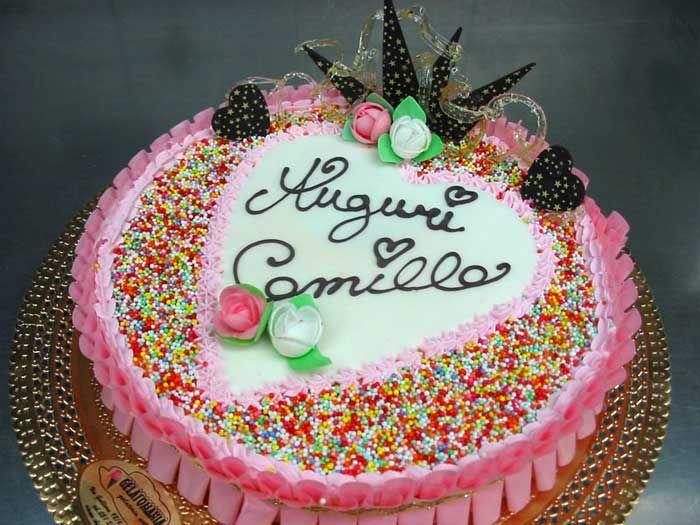 Assez Torte di compleanno bimba KK16