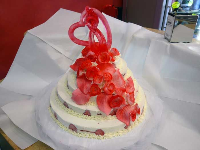 Matrimonio Tema Gelato : Torte gelato per matrimoni e anniversari