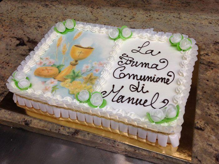 Super TORTE GELATO PER COMUNIONI E CRESIME BW72