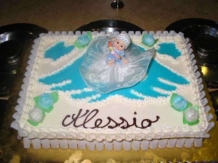 Molto torte gelato per battesimi WH02