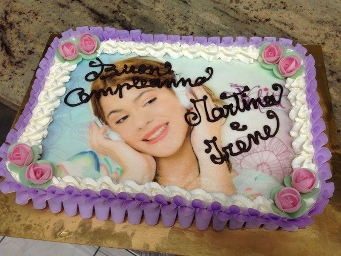 Torta Compleanno Violetta.Torte Di Compleanno Per Bambine Gelatomania