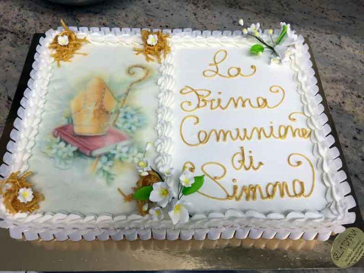 Torte gelato per comunioni e cresime - Decorazioni per cresima ...